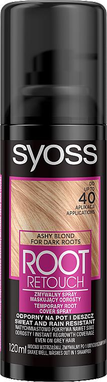 Тонирующий спрей для закрашивания отросших корней - Syoss Root Retoucher Spray — фото N1