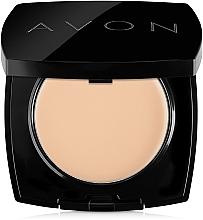 Духи, Парфюмерия, косметика Компактная крем-пудра для лица - Avon True Cream-Powder Compact
