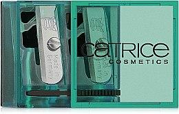 Духи, Парфюмерия, косметика Двойная точилка для косметического карандаша, зеленая - Catrice