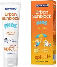 Духи, Парфюмерия, косметика Солнцезащитный крем для для детей - Novaclear Urban Sunblock Kids SPF50