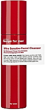 Духи, Парфюмерия, косметика Сверхчувствительное очищающее средство для лица - Recipe For Men Ultra Sensitive Facial Cleanser