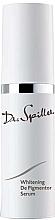 Духи, Парфюмерия, косметика Осветляющая депигментирующая сыворотка - Dr. Spiller Whitening De Pigmentor Serum