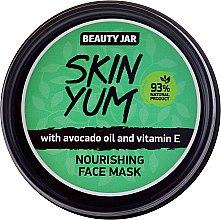 Духи, Парфюмерия, косметика Питательная маска для лица - Beauty Jar Skin Yum Nourishing Face Mask
