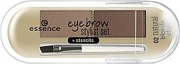 Духи, Парфюмерия, косметика Пудра для бровей - Essence Eyebrow Stylist