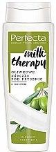 Духи, Парфюмерия, косметика Оливковое молочко для душа - Perfecta Olive Shower Milk