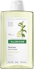 Духи, Парфюмерия, косметика Шампунь с лимоном тонизирующий для блеска - Klorane Shampoo With Citrus Pulp