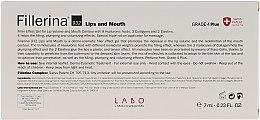 Гель для увеличения объема губ и улучшения контура, уровень 4 - Fillerina Lips And Mouth Grade 4 Plus — фото N2