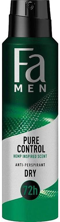 Антиперспирант-спрей - Fa Men Pure Control Hemp Inspired Scent Anti-Perspirant — фото N1