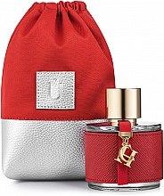 """Духи, Парфюмерия, косметика Подарочный кисет для парфюмерии, красный """"Perfume Dress"""" - MakeUp"""