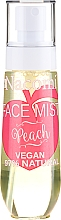 "Духи, Парфюмерия, косметика Спрей для лица ""Персик"" - Nacomi Face Mist Peach"