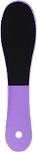 Духи, Парфюмерия, косметика Двусторонняя терка для ног, фиолетовая - Inter-Vion