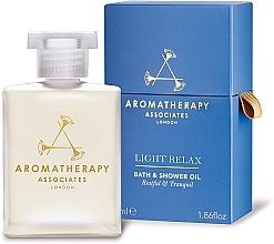 Духи, Парфюмерия, косметика Расслабляющее масло для ванны и душа - Aromatherapy Associates Light Relax Bath & Shower Oil