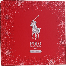 Духи, Парфюмерия, косметика Ralph Lauren Polo Red - Набор (edp/125ml + edp/40ml)