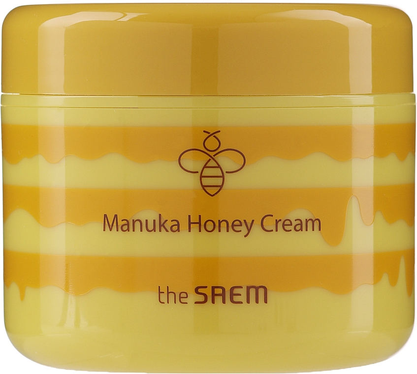 Крем для лица с экстрактом меда - The Saem Care Plus Manuka Honey Cream — фото N2