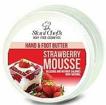 Духи, Парфюмерия, косметика Масло для рук и ног - Hristina Stani Chef's Hand And Foot Butter Strawberry Mousse