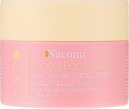 Духи, Парфюмерия, косметика Медовая гель-маска для лица - Nacomi Honey Face Gel-Mask