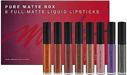 Духи, Парфюмерия, косметика Набор матовых помад для губ - Zoeva Pure Matte Box (lipstick/8x6ml) (8 x 6 ml)