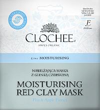Духи, Парфюмерия, косметика Увлажняющая маска с белой глиной - Clochee Moisturising Red Clay Mask