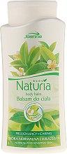 Духи, Парфюмерия, косметика Бальзам для тела с зеленым чаем - Joanna Naturia Body Balm