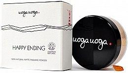 Духи, Парфюмерия, косметика Матирующая пудра для лица - Uoga Uoga Happy Ending Finishing Powder