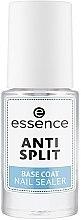 Духи, Парфюмерия, косметика Базовое покрытие против расслоения ногтей - Essence Anti Split Base Coat Nail Sealer