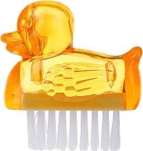 Духи, Парфюмерия, косметика Щеточка для маникюра, 3467, желтая - Deni Carte Duck's Brush