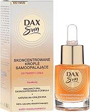 Духи, Парфюмерия, косметика Концентрат для автозагара - Dax Sun Self-tanning Concentrated Drops