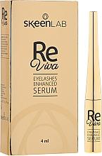 Духи, Парфюмерия, косметика Сыворотка для роста ресниц - Skeenlab ReViva Eyelash Enhanced Serum