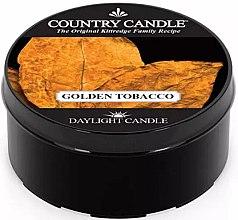 Духи, Парфюмерия, косметика Чайная свеча - Country Candle Golden Tobacco