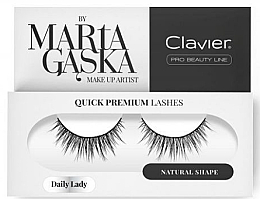 Духи, Парфюмерия, косметика Накладные ресницы - Clavier Quick Premium Lashes Glam Madame 829