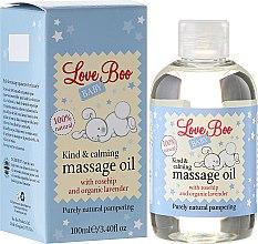 Духи, Парфюмерия, косметика Успокаивающее массажное масло для ребенка - Love Boo Baby Kind & Calming Massage Oil
