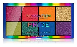 Духи, Парфюмерия, косметика Палетка теней для век - Makeup Revolution x Pride Spirit Of Pride Shadow Palette