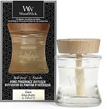 Духи, Парфюмерия, косметика Аромадиффузор - Woodwick Home Fragrance Diffuser Linen